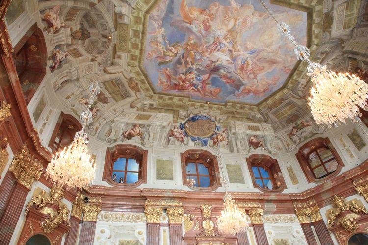 ウィーン ベルヴェデーレにて。 Wien ウィーン ベルヴェデーレ