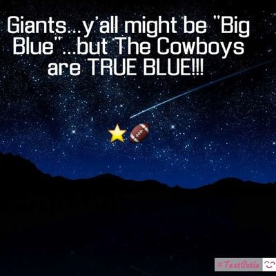 Told you my boys were gonna slay some Giants tonight :-) HowBoutThemCowboys DallasDidIt CowboysAllDay DallasAllDay DallasCowboys CowboysNation AmericasTeam