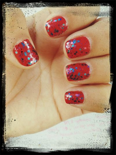 Big Apple Red and Polka
