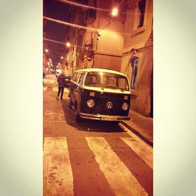 Classic Vintage Volkswagen Van streetsofbarcelona