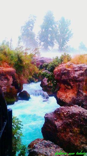 Fog Waterfall