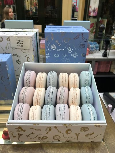 Box Of Macaroons Macarons Melbourne City Melbourne Thelittleroyalmacarons The Little Royal Arcade Dessert Sweet Pastel Pastel Colors Pastel Color Macarons Baby Blue Macarons Taken With IPhone7plus
