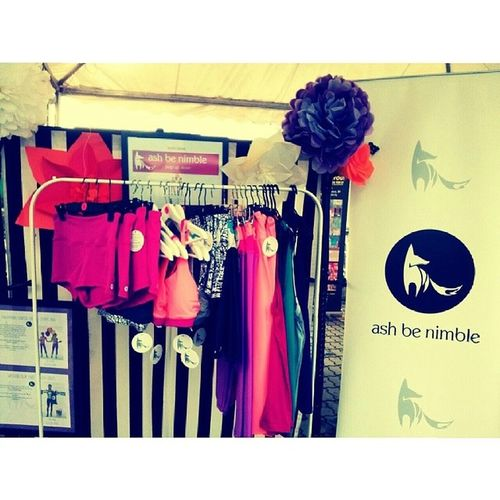 Cute Ashbenimble corner at Kltowerinternationaltowerthonchallenge2014 Kltowerthon2014 kltowerthon kltower sportswear