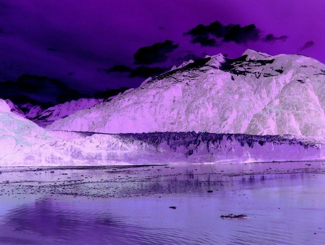 Alien World Invert Purple Purplesky Background Wilderness Screensaver WallpaperForMobile Surreal Fantasy