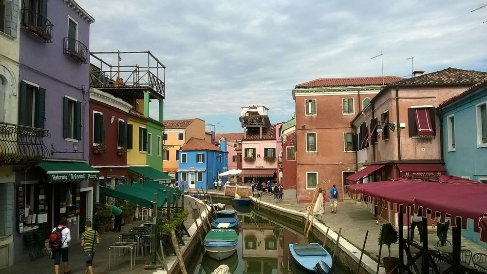 Burano, Italy Calmness City Colorful Colours Feeling Safe Houses Outdoors