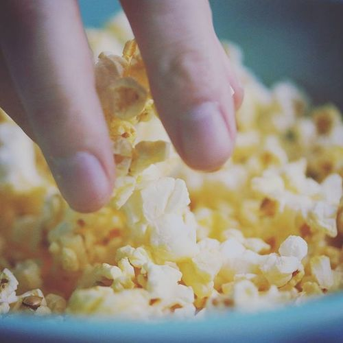 It has come to my attention that I need popcorn to look like popcorn and not all artsy. Nofilterinstagram StraightUp Canon I <3my60mm Popcorn