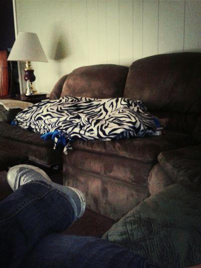 Hunner Sleeping