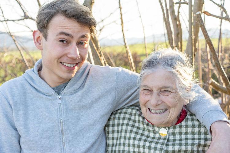 grandma and grandson eyeem