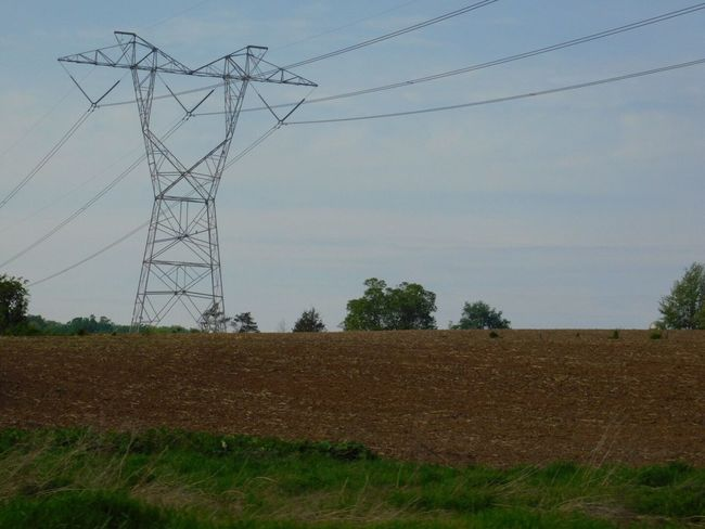 Field Pennsylvania Beauty Parksburg Pa Electricity Pylon Cable Electricity  Field Connection Power Supply Power Line  Tree Fuel And Power Generation Electricity Tower Landscape Sky No People Day Technology Rural Scene Outdoors Nature