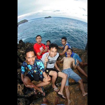 Ini pulau sempu men :D Hidupmataikan Selfielalalala Adventure INDONESIA