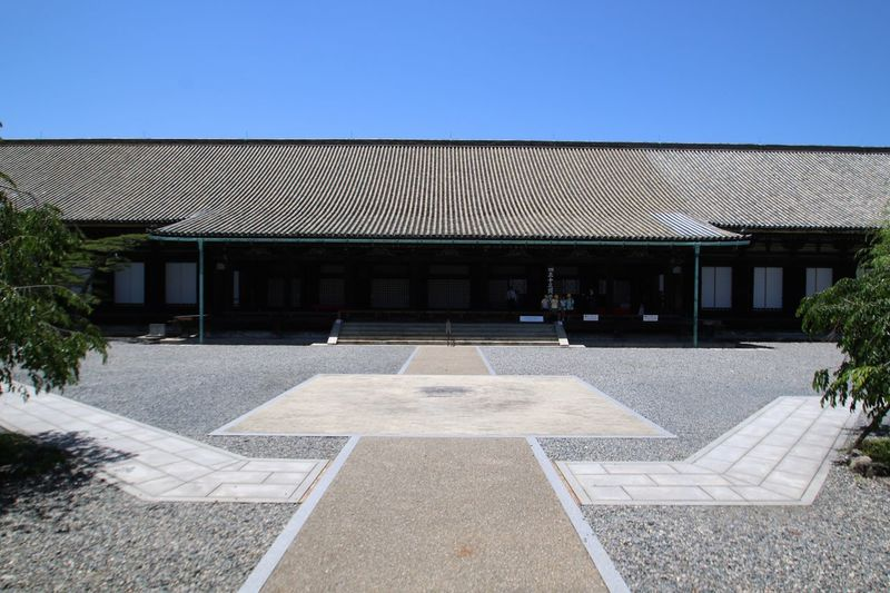 Japan Photography Close-up Kyoto Japan No People Shinto Shrine 三十三間堂 Blue Sky Sky_collection StillLifePhotography Shrine