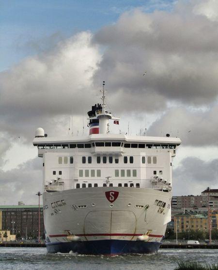 The Stena Danica pirouetting for the return trip to Denmark. River Denmark Travel Tourism Ship Riverside Cruise Ship Adventure Booze Cruise!
