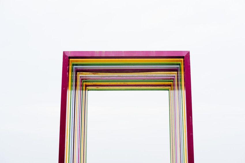 Architecture Art Installation Art is Everywhere Kaohsiung Cijin Qijin Rainbow Rainbow Arch White Background