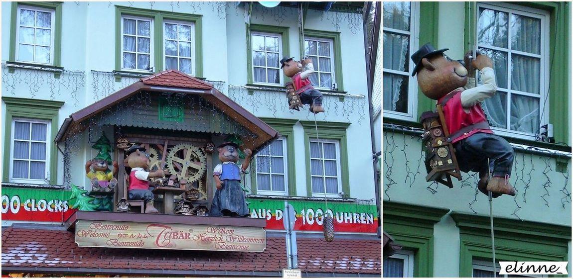 Triberg Clock Shop Bears🐻 House Germany Amateurphotography