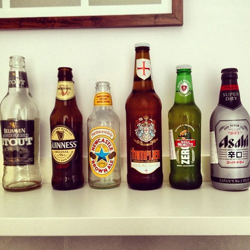 Newcastlebrownale Asahi Belhavenstout Birramoretti templier guinnes beer cerveza bira pivo ale igers igmania instagood iphoneonly