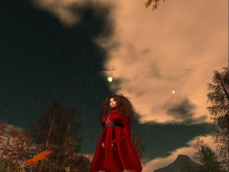 Sun and Rain By: Mercedesmichelle7 also Lez/Chelly/Michelle Secondlife Secondlifeavatar Virtual Landscapes Virtual Reality