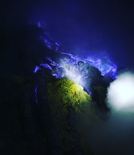 Banyuwangi Eastjava Mountijen BluefireGreen Color Blueflame Sony A6000 F50mm1.8 Finding New Frontiers