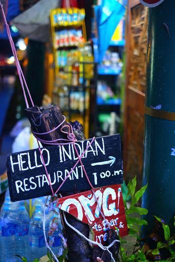 Hello Indian Sign Thailand Hello Indian HelloIndia