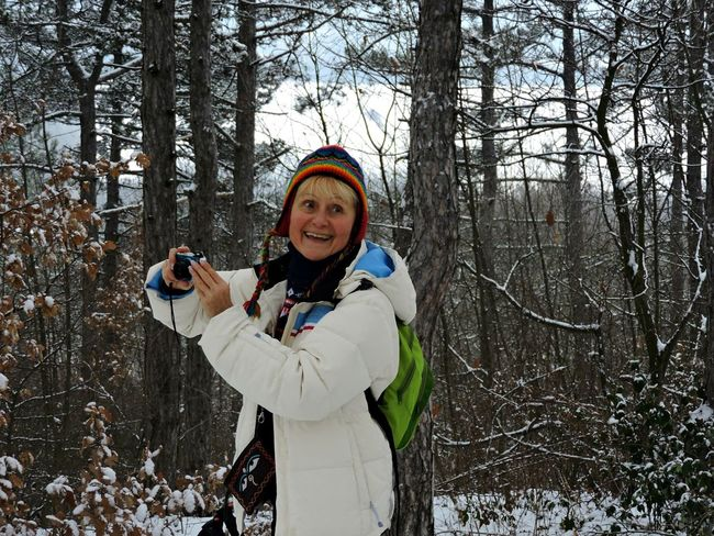 Hike Hiker Hiking❤ Hikingadventures Hiking Photos Photographer Photographer In The Forest Woman In The Forest Forest In The Winter Nice Smile White Coat Nice Woman Warm Clothing Tree Portrait Snow Smiling Cold Temperature Winter Wireless Technology Technology Forest