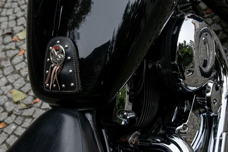 Transportation Mode Of Transportation Land Vehicle Motorcycle Black Color Day Motor Vehicle Close-up Car Outdoors Reflection Riding Travel No People Wheel City Shoe Ride Bicycle Leather Tire Road Trip Chrome