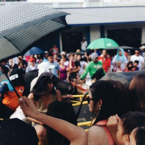 Crowd Story Street Scenario Keep It Blurry