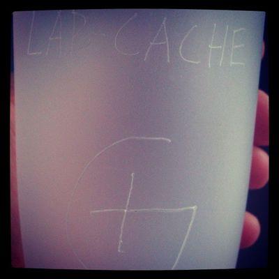 Lab-cache. Coffee Mugg Geocaching