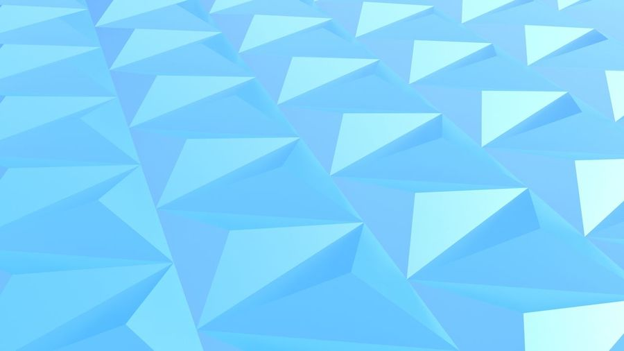 blue sharp triangle orientation background 3D Illustration 3D In 2D 3d Illusion Abstract Backgrounds Blue Geometric Shape Geometry Pattern Triangle Shape