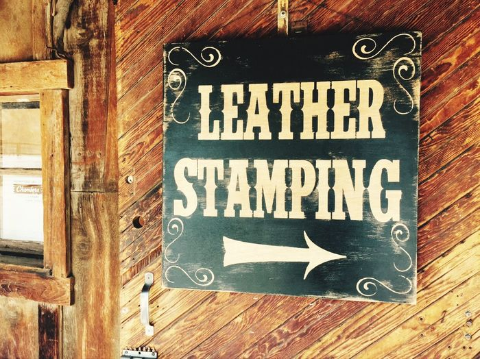 Telling Stories Differently Calico Ghost Town Leather Stamping No People Found On The Roll California Dreamin Stories From The City