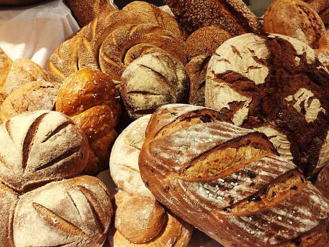 Wholegrain Bread No People Food And Drink Ready-to-eat German Bread Bakery Baked Close-up Breads Bread Loaves Food