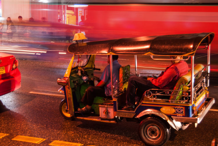 Bangkok Outdoors Street Night