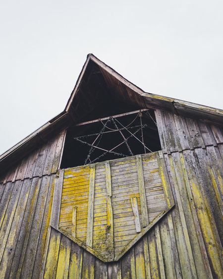 Architecture Barn Farm Farm Life Fixer-upper No People Rustic Style Star