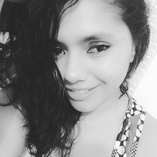 Brazilian Woman My Selfie Beauty Woman Blackandwhite