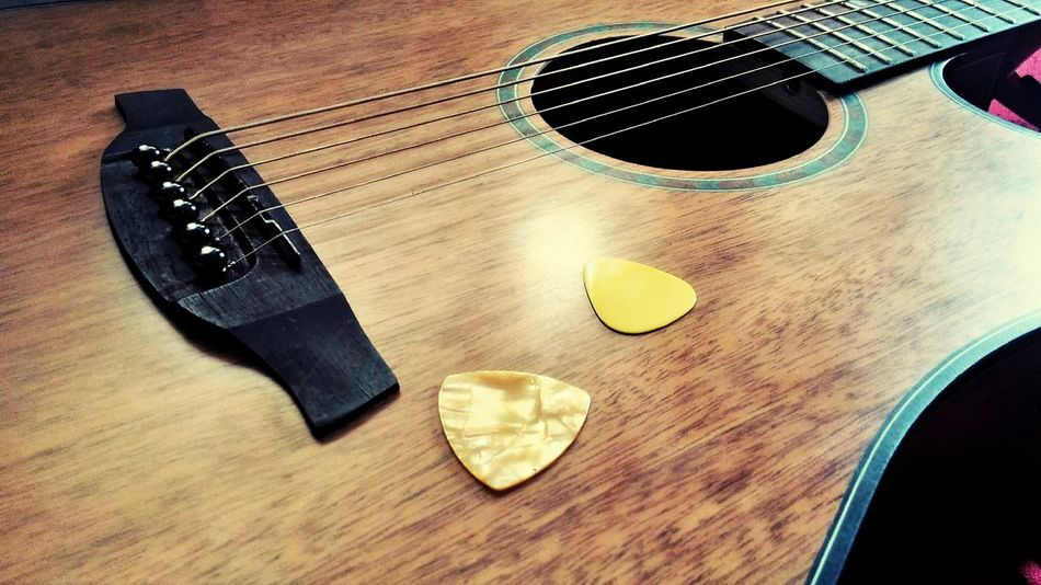 Close-up Music Guitar Musical Instrument EyeEmNewHere Life Strings Stringed Instrument PhonePhotography Phone Camera