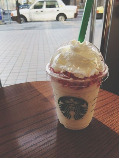 スタバ Starbucks フラペチーノ