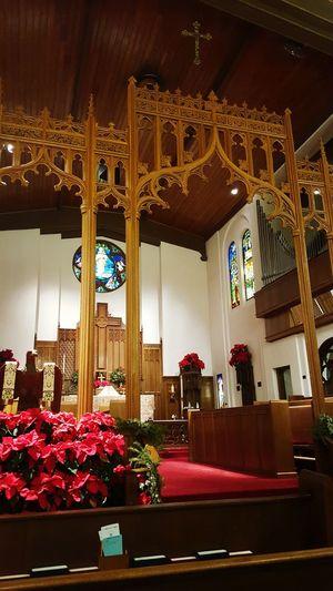 Loving my beautiful church St Marks Episcopal Church Sanctuary  God Is Good Night Service