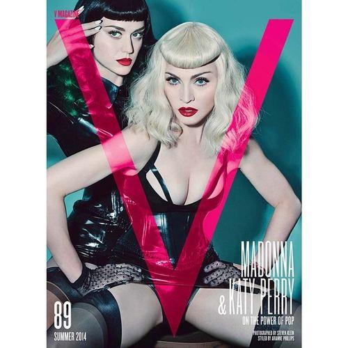 ภรรยาหลวง และ ภรรยาน้อย ❤️Vmagazine Fashion Cover Diva Queenofpop Pop Cute Madonna Katyperry