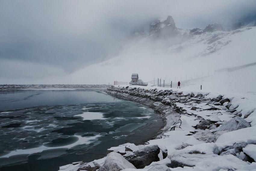 Swiss Grindelwald Snow Lake Travel Travel Photography