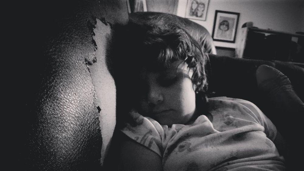 Sleeping Beauty Sleeping Sleeping Girl EyeEm Selects Young Women Living Room Portrait Home Interior Domestic Life Depression - Sadness Headshot Close-up