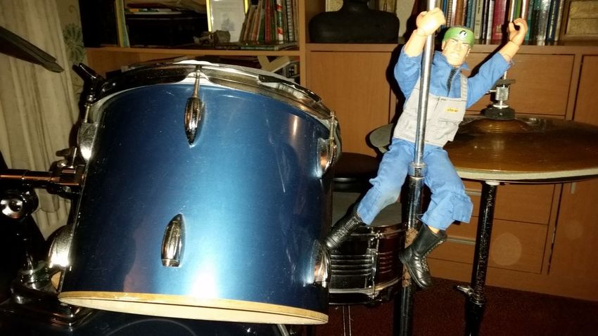 Indoors  Drums Action Man Toy Figure No People Close-up Day Samsung Galaxy S5 Cymru Percussion