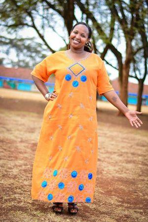 African dress Nikon Proudly Kenyan