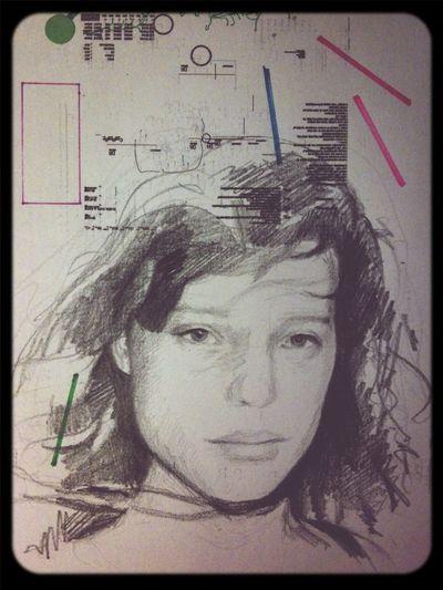 Art Portrait Drawing Pencil