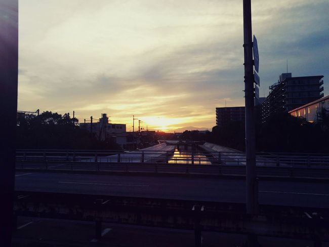 Transportation Car City Sky Street Sunrise - DawnHUAWEI P9 EVA-L9