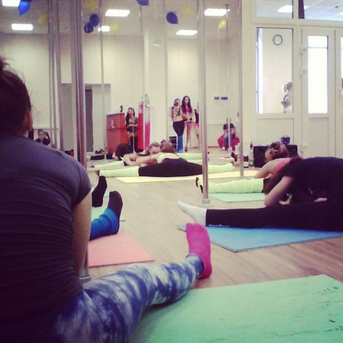 Школа танца и акробатики Cat 's треним :D