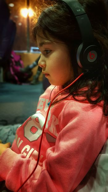 From My Point Of View Headphones My Daughter My Girl My Love On The Ship Traveler Watching A Movie Youth Of Today