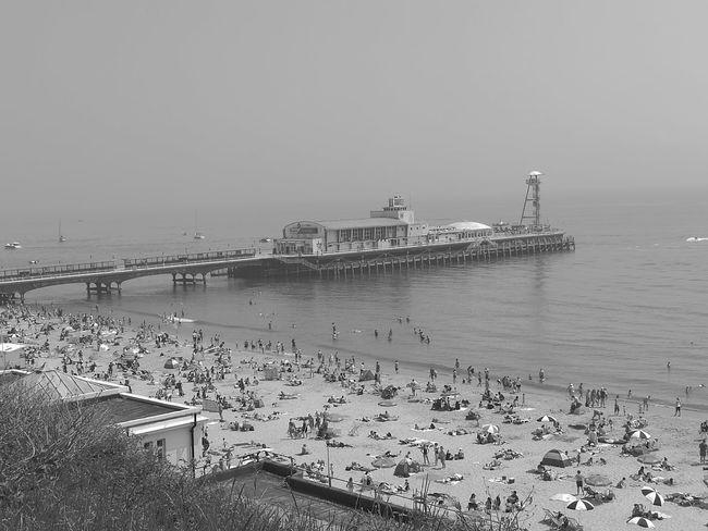 Bournemouth pier last Saturday looks pretty cool Bournemouthpier HuaweiP9 Bournemouth First Eyeem Photo