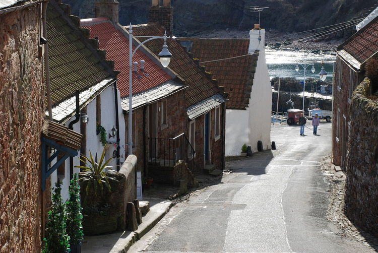 Crail Harbour Crail, Scotland. Fishing Village Steep Hill Architecture Building Exterior Built Structure Day Fishing Houses House No People Outdoors