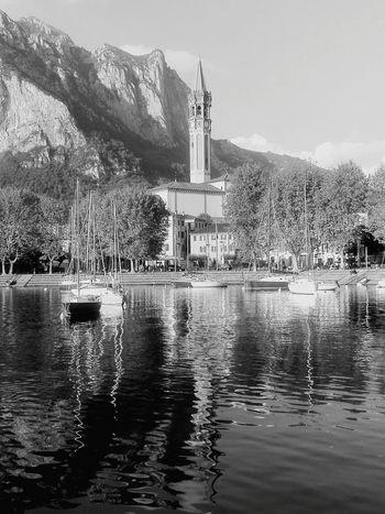 Water Lake Landscape Lake Of Como, Lecco Lake And City lake and boats