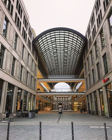 Mall of Berlin Architecture Berlin Building Building Exterior Buildings & Sky Built Structure City Clear Sky Day Incidental People Indoors  Largebuilding Modern People Public Transportation Shopping Shopping Mall View