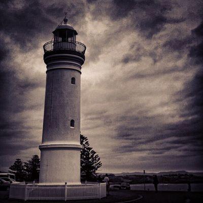 Sony Nex Nex5n Skopar 21mm australia bw bnw bnw_society kiama lighthouse clouds