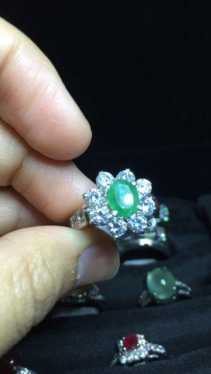 Original Emarald Stone For. Women One Person Jewelry Luxury Luxurylifestyle  Forwomen